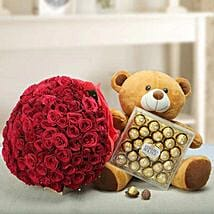 Say U Care: Send Mother's Day Flower and Chocolates to UAE