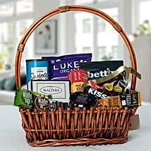 Small Basket Chocolate Wonder: Thanksgiving Gifts to UAE
