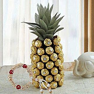 Sweet Pineapple Affair: Rakhi Delivery in Dubai