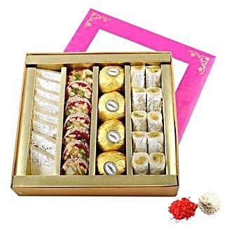 Sweets Box UAE: Send Bhai Dooj Sweets to UAE