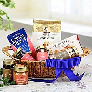 The Blue Allure: Dubai Gift Basket Delivery