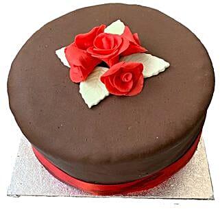 Chocolate Rose Cake: Cake Delivery UK