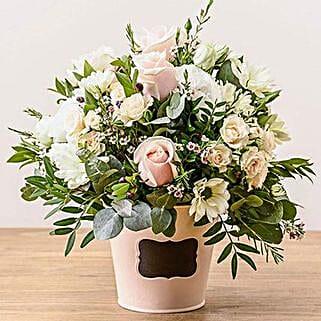 Dawn Arrangement: Sympathy & Funeral Flowers to UK