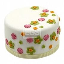 Flower Duet Cake: Cake Delivery UK