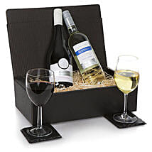 French Two Bottle Wine Selection: Rakhi Gifts for Sister to UK