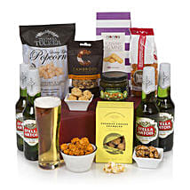 Gentlemans Ale Basket: Christmas Gift Hampers to UK