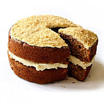 Gluten Free Apple Crumble Sponge Cake: Send Cakes to Edinburgh