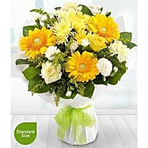 Golden Moments: Send Carnations to Uk