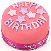Happy Birthday Pink Cake: Send Cakes Oxford