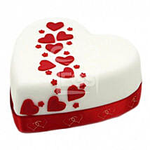 Hearts And Stars Cake: Send Cakes to Edinburgh