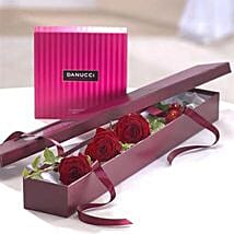 I Love You Chocolate Gift Set: Valentine's Day Gift Delivery in UK