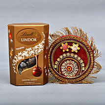 Lindt And Puja Thali Combo: Bhai Dooj Gift Delivery in UK