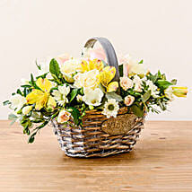 Luxurious Basket: Flower Delivery UK