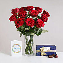 Romantic Gift Set: Flower Delivery in London UK