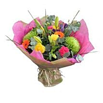 Vibrant Delight: Flower Bouquet Delivery UK