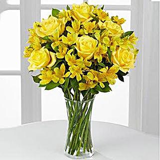 Citrus Burst Bouquet: Flower Delivery in USA