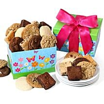 Cookie And Brownie Gift Box: Gift Basket Delivery in USA