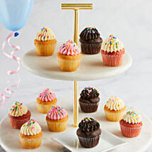 CRUMBS Mini Birthday Cupcakes: Gift Delivery for Her in USA