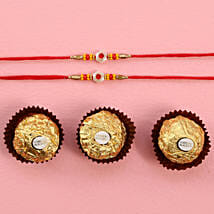 Fancy Rakhis With Rocher: Send Rakhi to Houston