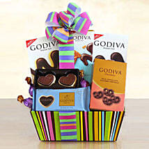 Godiva Galore Gift Basket: Birthday Gifts to USA