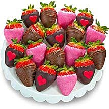 Love Dipped Strawberries: Send Valentine Gifts to Irvine