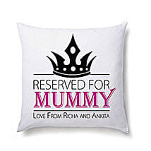 Lovely Personalized Cushion For Mom: Send Personalised Gifts to USA