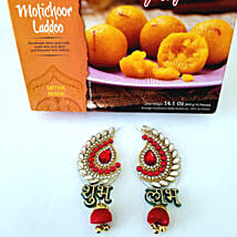 Moti Choor Ladoo with Designer Shubh Labh: Diwali Gifts to Los Angeles