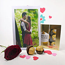 Personalized Greeting Card And Rose: Personalised Gifts USA