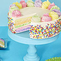 Rainbow Cake: Cakes to Raleigh