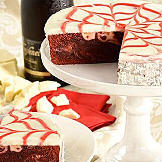 Red Velvet Brownie Cake: Anniversary Cakes to USA