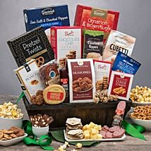 Sweet and Salty Snack Gift Basket: Birthday Gifts to USA