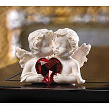 Two In Love Cherub Figurine: Valentine's Day Gifts to Ontario